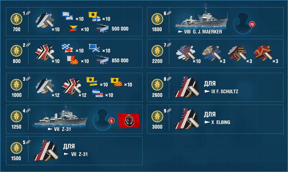 награды за немецкие жетоны